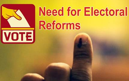 Electoral reforms at the national level